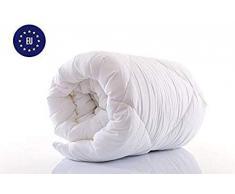 Amazinggirl bettdecke 155 x 220 winterdecke Steppdecken Schlafdecke - Ganzjahresdecke warm für Allergiker Steppbettdecke weiß hypoallergen