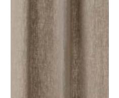 URBANARA Vorhang Fana – 100% reiner Leinen, Vorhangschal mit Tunnelzug – einzelner Schal (140 x 245 cm, Natur)