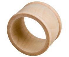 10 Stück Hofmeister Holzwaren Serviettenring, aus Ahorn-Holz