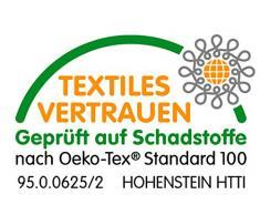Bierbaum Bettwäsche 6155, Mako-Satin, Made in Germany, petrol 20, 135x200 + 80x80 cm