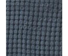 URBANARA 180x230 cm Tagesdecke/Plaid Veiros Blaugrau — 100% Reine Baumwolle — ideal als Bettüberwurf oder Kuscheldecke mit Strukturiertem Waffelmuster — geeignet für Einzel- und Doppelbett