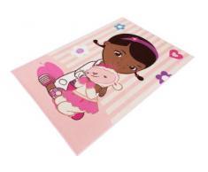 Kinderteppich Kinder Teppich Wandteppich Spielteppich Läufer moderner Kinderzimmer Teppich Kinderzimmerteppich Disney Doc Mc Stuffins Spielzeugärztin mit Schaf Schäfchen Lamm Lämmchen