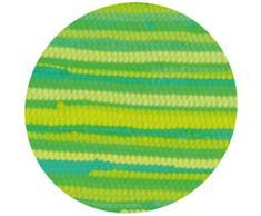 Flickenteppich Läufer aus 100% Recycelter Baumwolle, Auswahl: 50 x 80cm, hellgrün - limettengrün