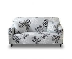 HOTNIU Elastischer Sofabezug Sofahusse 3 Sitzer Sofa Überwürf Stretch Sofabezüge Couchbezug Sofa Abdeckung Muster Hussen für L Form Sofa Couch Sessel
