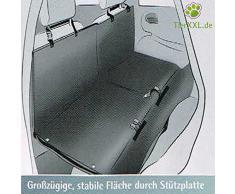 TierXXL.de BRIDGE stabile und teilbare Autoschondecke mit Fussraum-Überbrückung 138 x 167cm