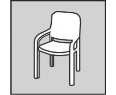 BEST 04101530 Sesselauflage nieder STS 100 x 50 x 7 cm, D.1530