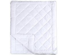 aqua-textil Soft Touch 4 Jahreszeiten Bettdecke 200 x 240 cm Steppdecke atmungsaktiv Decke Winter Sommer