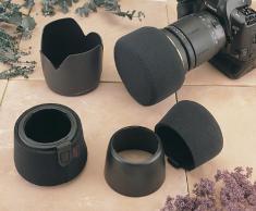 OP/TECH Überwurf für Kamera-Objektiv Hood Hat (10 cm) Schwarz