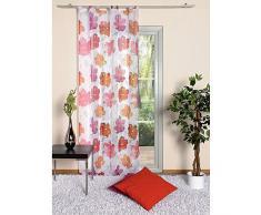 Home fashion 48048-831 Schlaufenschal, Voile, 245 x 140 cm, fuchsia