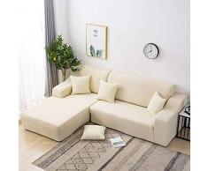 Willlly Sofa Überwürfe Sofabezug Bezüge Abdeckung Bezug Couch Schonbezug Spandex Couchbezug Sesselbezug Antirutsch Weich Stoff Jacquard Stretch Sesselhusse Elastisch Verfügbar