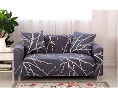 EXQUILEG Sofa Cover 1/2/3/4 Sitzer Elastischer Sofaüberwurf Couch Jacquard Sofahusse,Polyester,Verschiedene Muster (C, 2-Sitzer:140-180cm)