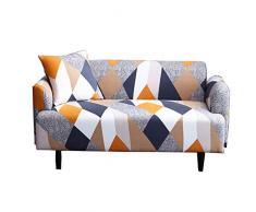 INGHU Schonbezug Sofahusse, Stretch-Stoff, Couch-Bezug, Sofa-Möbelschutz, kompletter Bezug maschinenwaschbar - 3-Sitzer - Muster 1