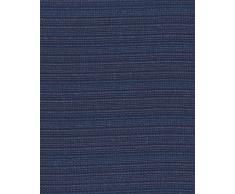 Zebra Textil Sofa, Blau