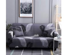 HOTNIU Elastischer Sofa-Überwürfe Antirutsch Stretch Sofaüberzug, Sofahusse, Sofabezug, Sofa Abdeckung Hussen für Sofa, Couch, Sessel in Verschiedene Größe und Farbe (3 Sitzer, Pattern #Hyy)