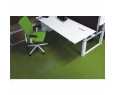 Ecogrip Bodenschutzmatte Ecogrip für Teppichböden 240x120cm transparent eckig