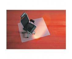 BSM Bodenschutzmatte für Teppichböden 90cm milchig/transparent rund