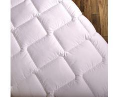Wendre leichte Sommerdecke für die warme Jahreszeit | 155x220 cm Bettdecke - Atmungsaktiv & Pflegeleicht | Weiche Steppdecke für den Sommer - Ideal für Allergiker | 155 x 220 Sommerbettdecke