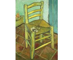 Flickenteppich 3D-Hologramm-Grußkarten, National Gallery-Van Gogh's,