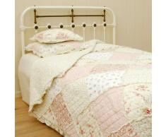 Clayre & Eef Q023.060 TAGESDECKE QUILT PLAID PATCHWORK PAISLEY 180 x 260