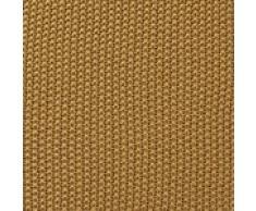 """URBANARA Baumwolldecke """"Antua"""" - 100% reine Baumwolle, Senfgelb, gestrickt – 140 x 200 cm, Strick-Decke, Überwurf, Plaid, Sofadecke, Kuscheldecke"""