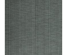 SUNWORLD Blickdichter Vorhang Nach Maß, Design:Textura Due, Kräuselband, Höhe: 70cm bis 330cm, Dunkelgrau (80cm)