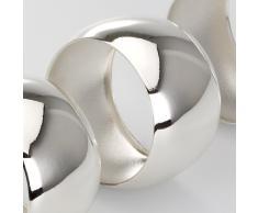 Serviettenringe Versilbert Silber 4cm 4er Set Servietten Ringe Tischservietten Ring Serviettenring