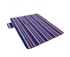 Outdoorer Picknickdecke XL Fleece, 150 x 180 cm, mit Streifen, Mod. 2014