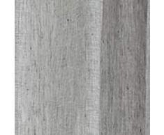 """URBANARA Vorhang """"Sameiro"""" 100% Leinen, Chambray Webung, Einzelner Schal mit Tunnelzug Aufhang – 140cm x 320cm, Grau"""