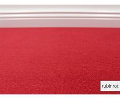 Teppichboden Auslegware Vorwerk Bijou UNI Rubinrot 400 x 325 cm 18,80 EUR / m²