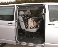 Trixie 13234 Auto-Schondecke, 1,40 × 1,45 m, schwarz/beige