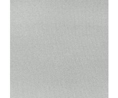 Hochqualitativer Vorhang nach Maß Oxford, Gardine nach Maß, Kräuselband, Schlaufen, blickdicht, 6 verschiedene Farben, Maßanfertigung, Gardinen nach Maß, (Light Grey, 200cm)