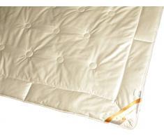 Garanta Bettdecke 220 x 240/1550 g - Leichtes Sommer Steppbett 100% Seide Übergröße
