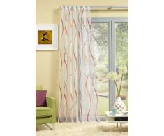 Home Fashion Schlaufenschal, Kunstfaser, Rot, 245 cm x 140 cm