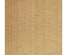 Blickdichter Vorhang nach Maß, Design: Textura Due, Kräuselband mit verdeckten Schlaufen, Höhe: 70cm bis 330cm, Dunkelbeige (90cm)