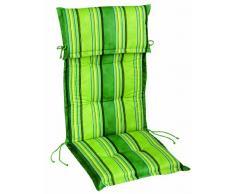 Best 01101114 Sesselauflage nieder STS 100 x 50 x 8 cm, Dessin 1114