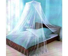 XXL Moskitonetz Bettvorhang | Mückenschutz fürs Bett | Fliegennetz Betthimmel