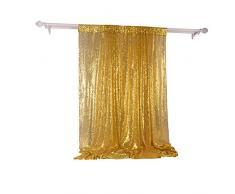 4X6ft Gold Schimmer Pailletten Fotografie Hintergründe Pailletten Stoff Vorhang Entwickelt Hochzeit Weihnachten Fotografie Hintergrund