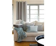 Esprit Mellows Plaid Decke Tagesdecke Kuscheldecke Wohndecke Couchdecke Sofadecke - Größe 150 x 200 cm - Farbe hellgrau / braungrau / dunkelgrau / beige / natur / rot / rose / hellblau / grün