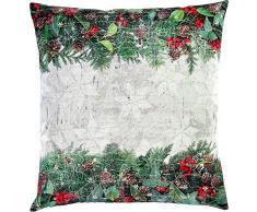 Sander Weihnachten Kissenhülle 50x50 cm grün rot X-MAS Bouquet