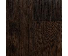 BODENMEISTER BM70555 PVC CV Vinyl Bodenbelag Auslegware Holzoptik Landhausdiele Eiche dunkel 200 300 und 400 cm breit verschiedene L/ängen Variante: 3,5 x 3 m