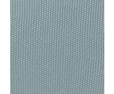 """URBANARA Baumwolldecke """"Antua"""" - 100% Reine Baumwolle, Grüngrau, gestrickt – 140 x 200 cm, Strick-Decke, Überwurf, Plaid, Sofadecke, Kuscheldecke"""