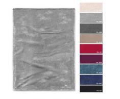 TOM TAILOR Angorina-Fleece Wohndecke 150 x 200 cm, grau, Mikrofaser, 38 x 27 x 3.5 cm
