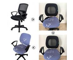 myonly Bürostuhl-Bezug mit abnehmbarem Stretchbezug, elastisch (ohne Stuhl) a