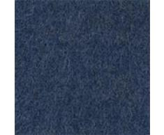 URBANARA Alpakadecke Arica - 100% reine Baby-Alpakawolle, einfarbig mit Fransen – 130 x 170 cm, Überwurf, Plaid, Kuscheldecke, Sofadecke, Wolldecke, Kaschmirdecke (Jeansblau)