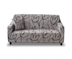 HOTNIU Elastischer Sofa-Überwürfe Antirutsch Stretch Sofaüberzug, Sofahusse, Sofabezug, Sofa Abdeckung Hussen für Sofa, Couch, Sessel in Verschiedene Größe und Farbe (3 Sitzer, Pattern_sl)