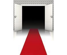 Roter Teppich Läufer 4,5m