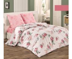 Bettwäsche Bettgarnitur Baumwolle Renforce mit Reißverschluss 5 Größen und vielen Farben Öko-Tex (155x220 cm, Design 11)