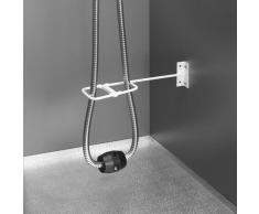 Hailo Schlauchbrausenabweiser Metallbügel zum Einbau in Spülenunterschränke zur gezielten Schlauchführung