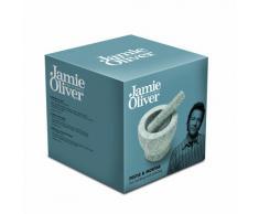 Jamie Oliver JC5101 Mörser und Stößel Set, Stein, grau, 14 x 14 x 12 cm