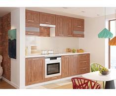 NEU komplette Küche MOHITO 260 cm Eiche Salina matt